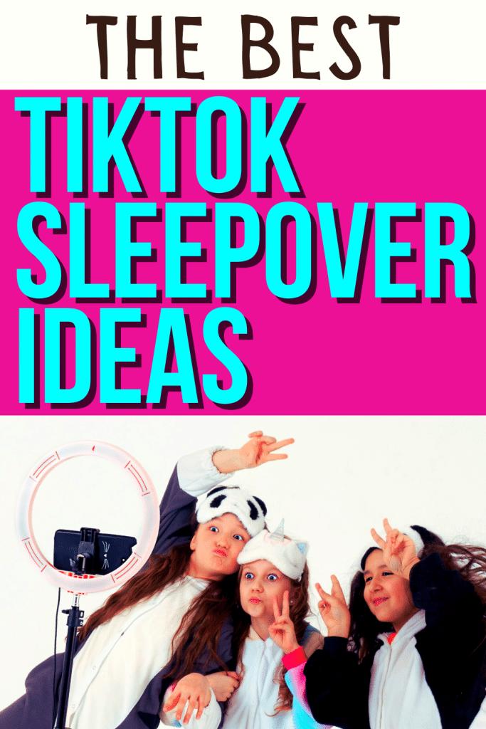 Fun TikTok Birthday Sleepover Ideas for Kids
