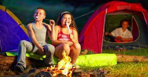Backyard Camping Sleepover Ideas