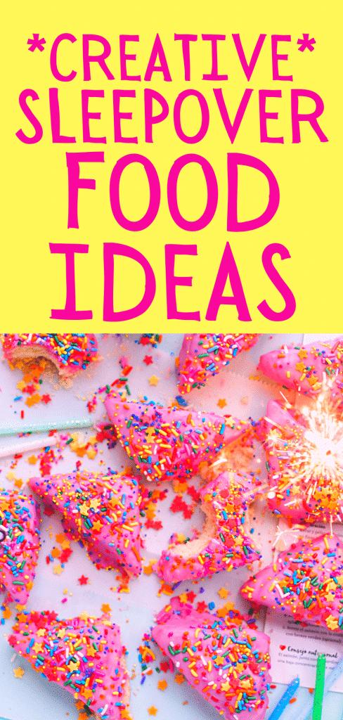 Pajama Party Food Menu Ideas