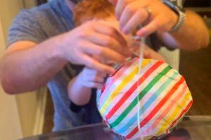 plastic wrap ball game