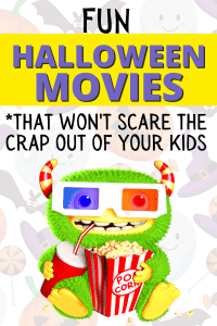 Fun Halloween Movies List for Kids #halloween #halloweenmovies #halloweenideas #halloweensleepover