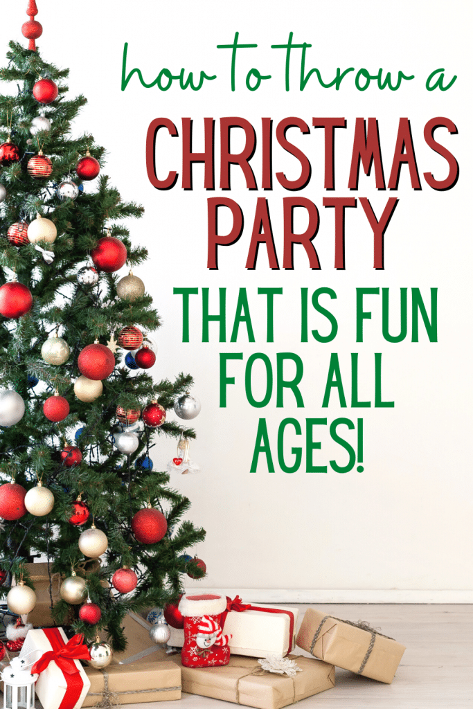 Best Christmas Party Ideas for Adults and Kids [super fun party ideas on this site!]
